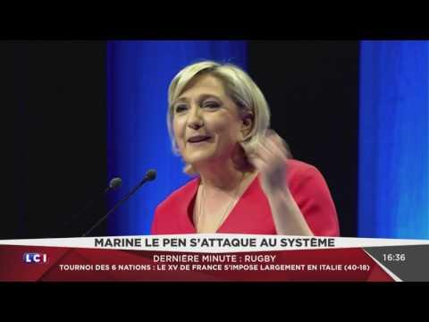 Meeting intégral de Marine Le Pen à Chateauroux (LCI, 11/03/17, 15h05)