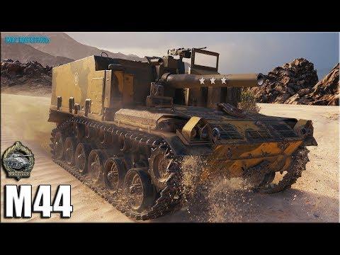 Рэдли Уолтерс на лучшей арте 6 уровня ✅ World Of Tanks M44 лучший бой
