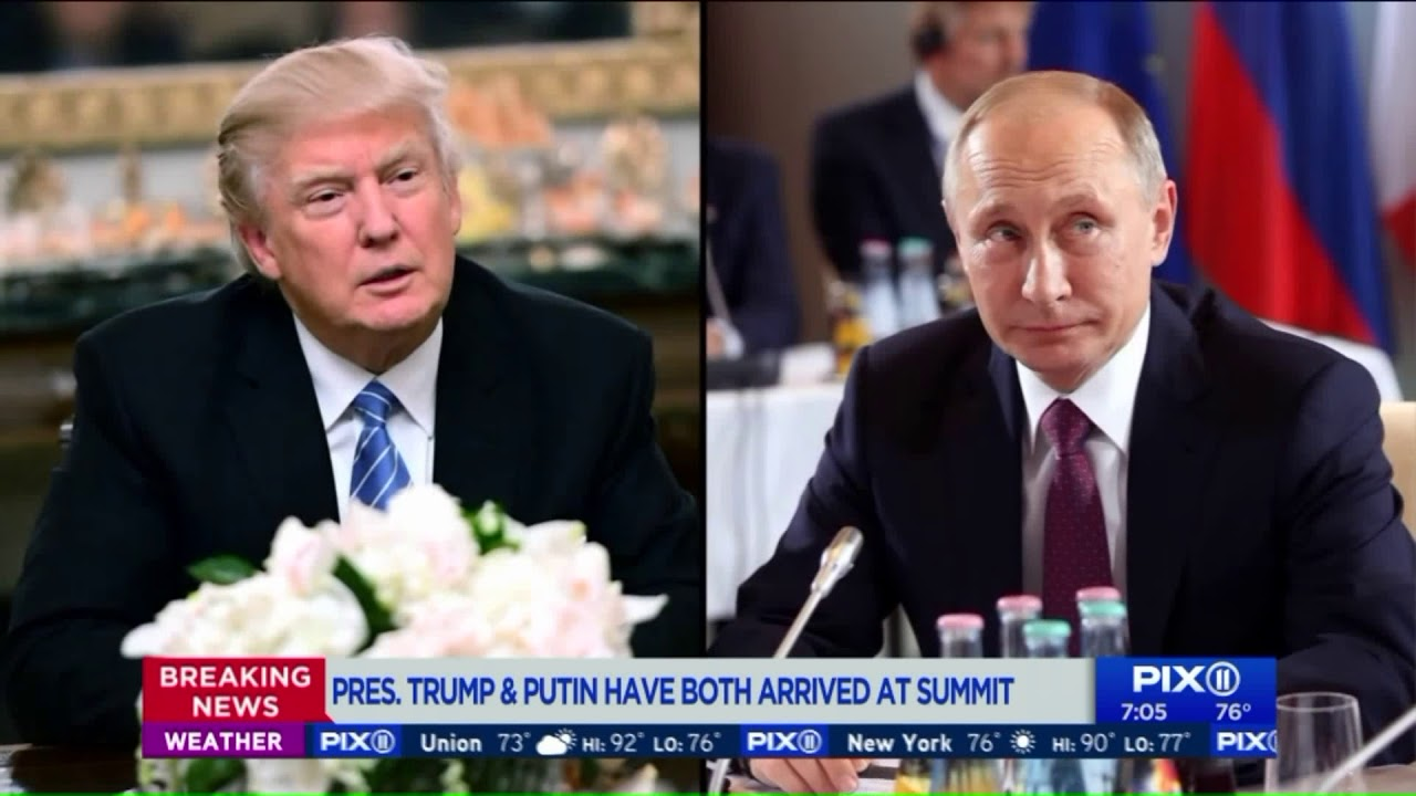 Amid investigations and tensions, Trump-Putin going 1-on-1