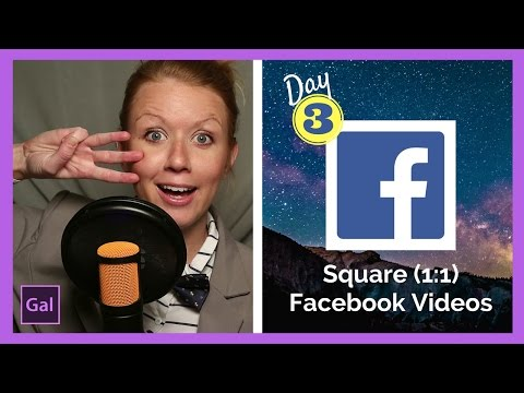How to Create & Export a Square (1:1) Video to Facebook in Premiere Pro