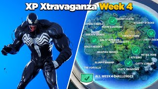 Fortnite All XP Xtravaganza Week 4 Challenges Guide (Chapter 2 Season 4)
