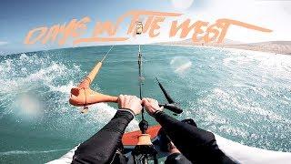Days in the West   POV Kitesurfing