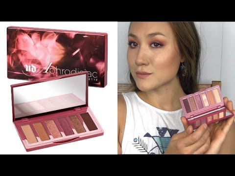 Urban Decay APHRODISIAC Shadow Palette: Application & Swatches