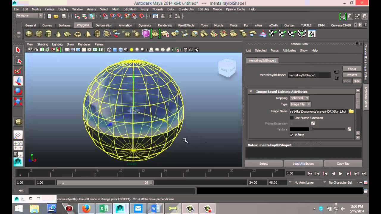 Maya 2014 tutorial  How to create IBL ( Image Based Lighting ) with HDR files - YouTube & Maya 2014 tutorial : How to create IBL ( Image Based Lighting ... azcodes.com