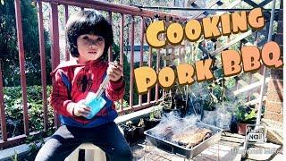 Jian Cooks a Pork Barbecue! ????