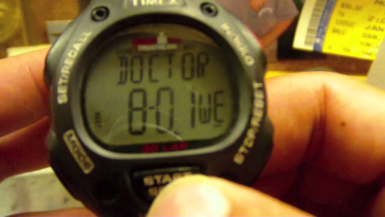 4b10bf3adc41 Timex Ironman 30 Lap Digital Watch Review - YouTube