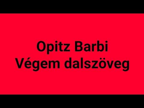 Opitz Barbi - Végem Karaoke
