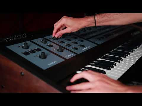 Oberheim OB-X - Rosen Sound Demo