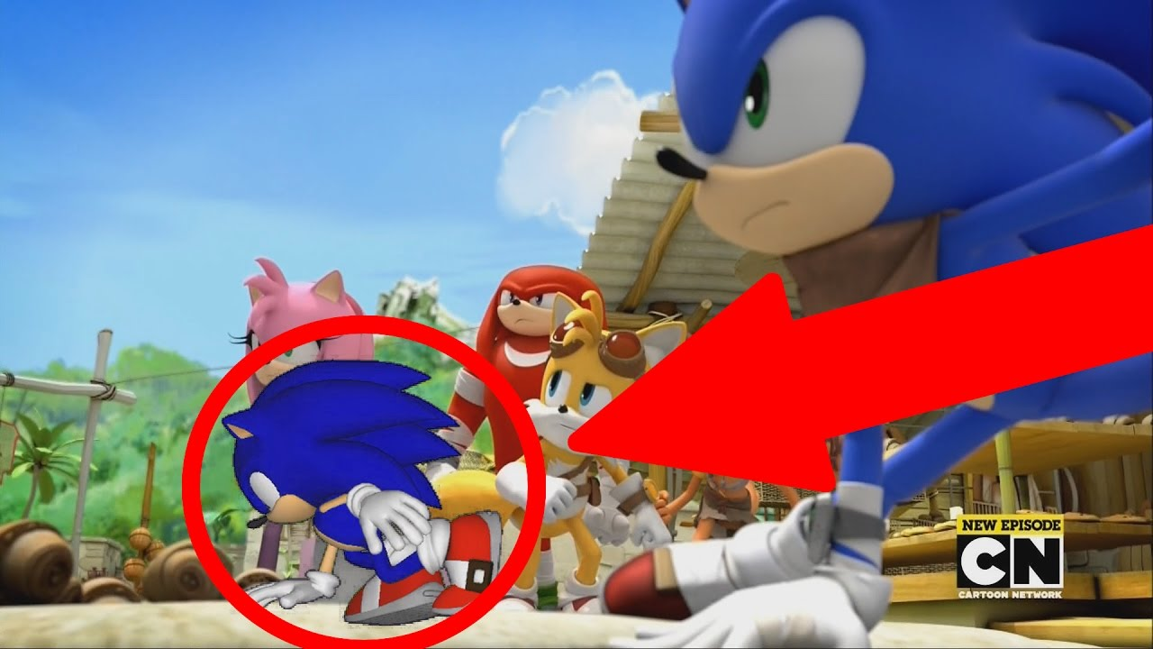 Modern Sonic In Sonic Boom Youtube
