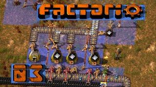 FACTORIO 🚂 Ohne viel Proben: Kupfer von oben ► #3 S04 Fabrik Aufbau Simulation deutsch german