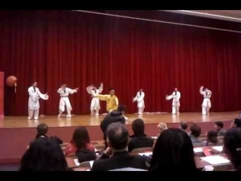 beijing sport university wushu team 2/7