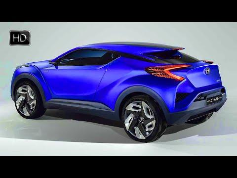 VIDEO: 2016 TOYOTA C-HR Concept Hybrid Crossover HD