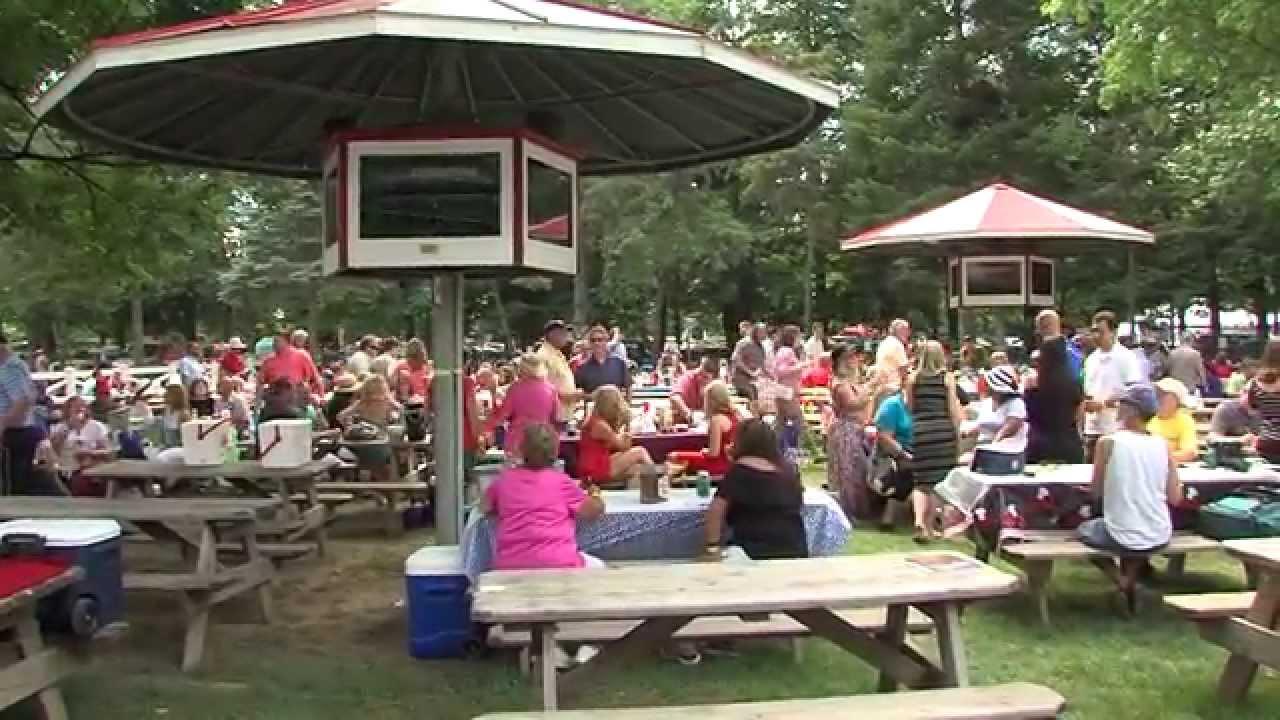 Backyard Picnic saratoga reserved backyard picnic tables - fan feedback - youtube