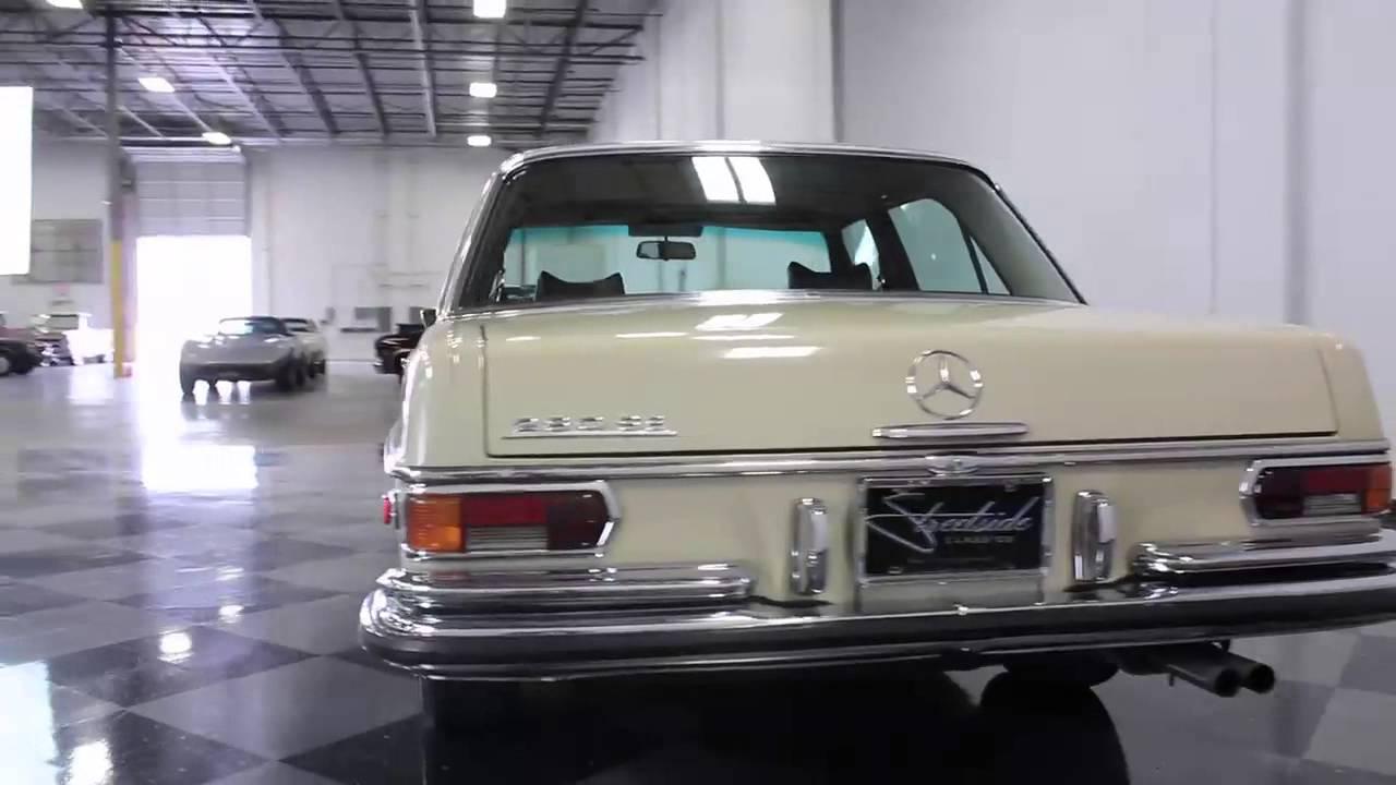 235 DFW 1972 Mercedes-Benz 280 SE - YouTube