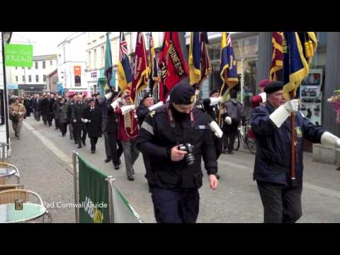 St Nazaire Parade - Falmouth 2013