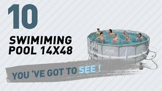 Swimiming Pool 14X48 // New & Popular 2017