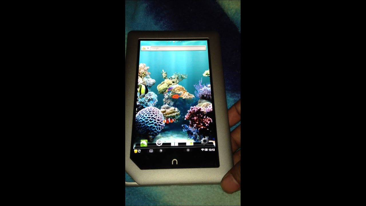 My top free live wallpapers for nook tablet color android youtube voltagebd Gallery