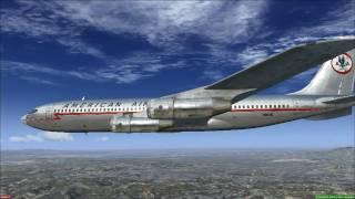 Captain Sim Boeing 707 - sound test