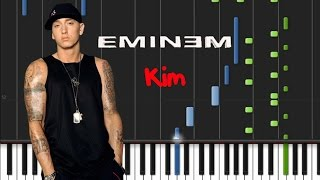 Eminem - Kim [Piano Tutorial] (♫)