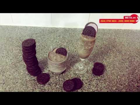 Cách làm cookie đá xay từ bánh Oreo cực đơn giản
