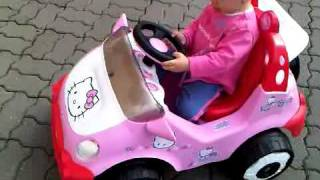 Video BABY GIRL AMALIA GETS HELLO KITTY CAR FROM GRANDPARENTS download MP3, 3GP, MP4, WEBM, AVI, FLV Agustus 2017