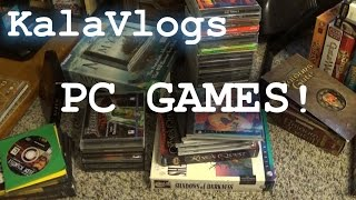 KalaVlog 04 - My (Mostly) Old PC Game Collection