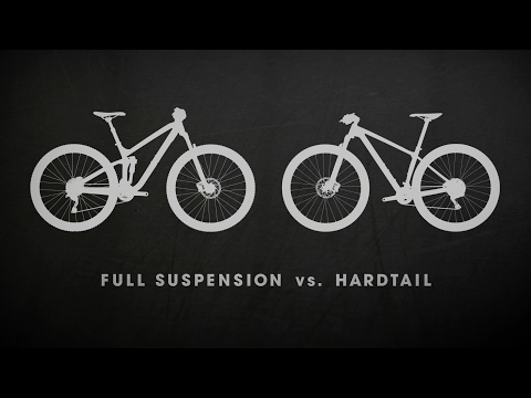 Hardtail or Full-Suspension mountain bike?
