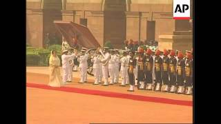 Bangladesh PM Zia visits