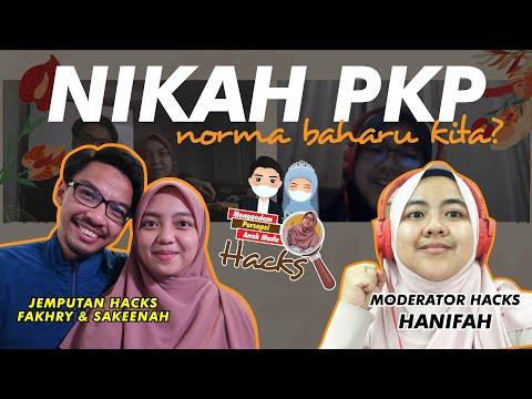 18 | Pengalaman nikah online Malaysia - Amerika Syarikat. Jom HACKS!