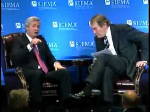 SIFMA's 2009 Annual Meeting: Jamie Dimon, JPMorgan Chase