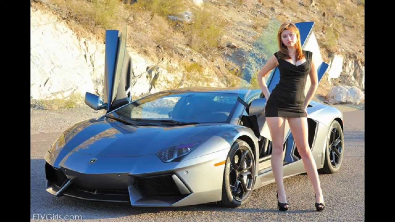 lamborghini beautiful car and beautiful girl youtube. Black Bedroom Furniture Sets. Home Design Ideas