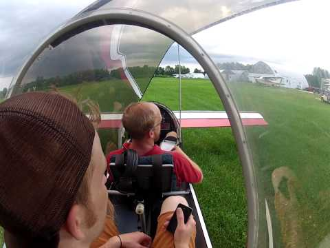 Trevor's flight in Falcon XP