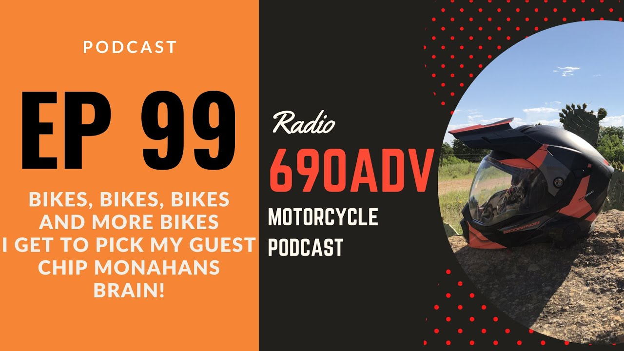 Bikes, Bikes, Bikes and more Bikes with Special guest Chip Monahan