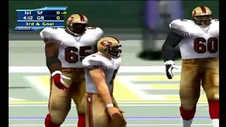 NFL 2K2 (Dreamcast) 49ers vs Packers