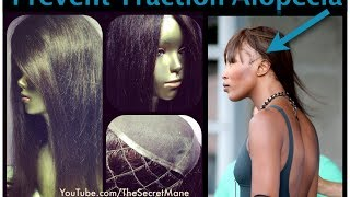 How To Prevent Traction Alopecia like Naomi Campbell
