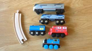 Amtrak Wooden Railway Toy Review