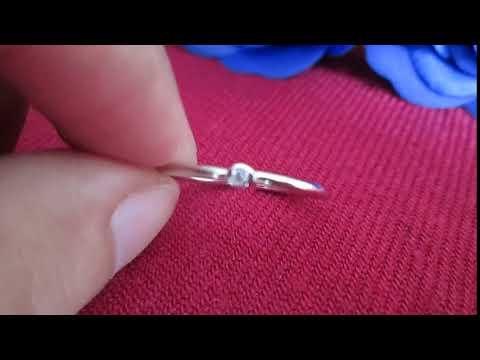 Nhẫn bạc nữ đính đá