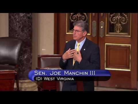 Manchin Speaks on Senate Floor on Miners Protection Act