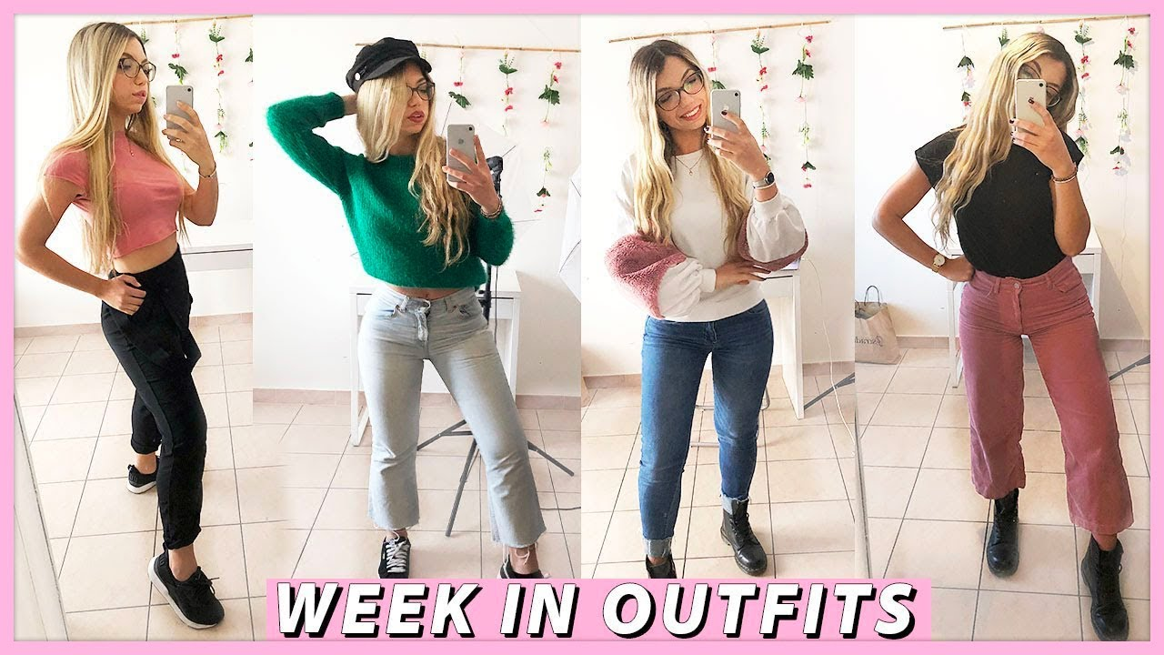 6 IDEE OUTFIT PER LA PRIMAVERA 2019 *spring weekly outfits* | Carolina Chiari 9