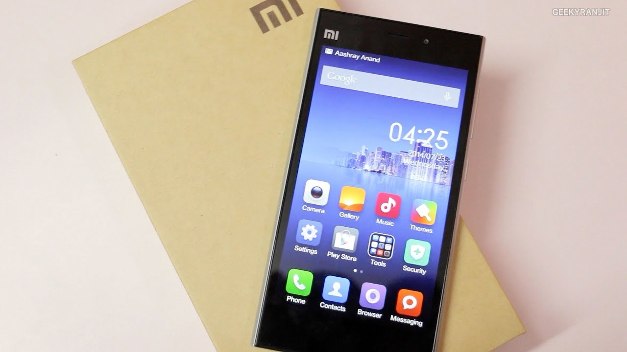 Xiaomi Mi3 Review High End Android Smartphone At Mid Range Pricing Rakkipanda Tempered Glass Screen Protector For Mi4i
