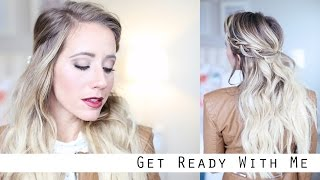 Get Ready With Me!!!  Makeup/Braid/Outfit