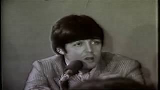 Raw news footage of The Beatles in Memphis, TN 19 Aug 1966