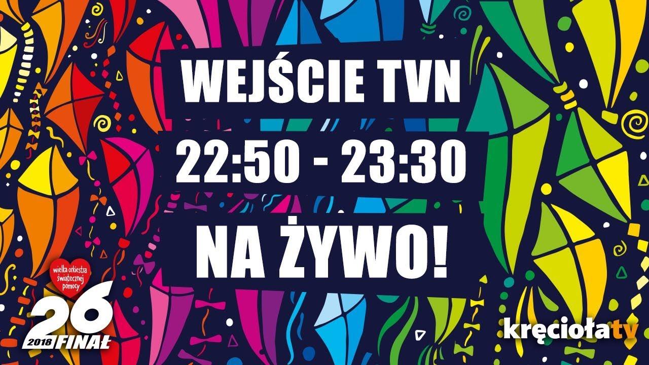 26. Finał WOŚP na żywo! TVN 22:50 – 23:30