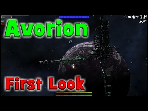 Avorion Gameplay ep1, How to, Controls, Ship Building, Minin