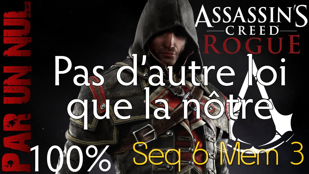 Assassin's Creed Rogue #14 - Sequence 4 - Memory 1 ...
