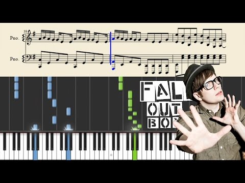 Fall Out Boy - Centuries - Piano Tutorial