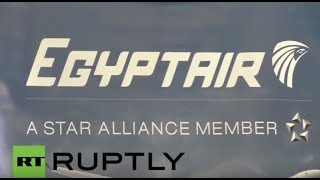 فيديو من داخل مطار ''شارل ديجول'' عقب اختفاء الطائرة المصرية