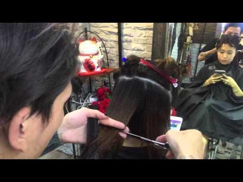 Hair bar Tuấn còi : p1 hướng dẫn cắt đầu vic 👌