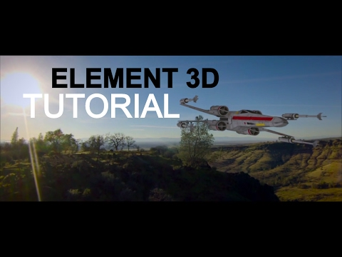 Element 3D in After Effects Tutorial!