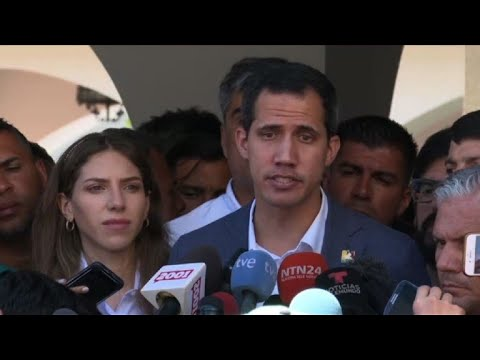 Venezuela's Guaido: those blocking aid are 'almost genocidal'